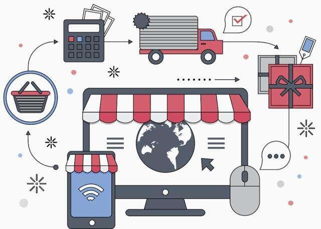 选择网上商城购物系统的优势和建站方法