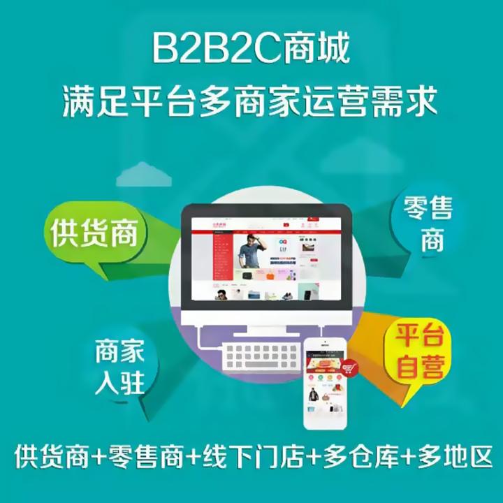 b2b2c商城系统的开发方式